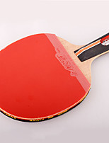 5 étoiles Ping Pang/Tennis de table Raquettes Ping Pang Bois Manche Court Boutons