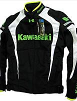 Motorcycle breathable belt cotton flanchard motorcycle jacket automobile race jacket have protection black&white