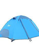 2 personnes Tente Double Tente pliable Une pièce Tente de camping 2000-3000 mm Oxford Etanche-Camping-