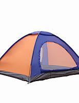 2 personnes Tente Double Tente pliable Une pièce Tente de camping 1500-2000 mm Fibre de verre MailleEtanche Respirabilité Résistant aux