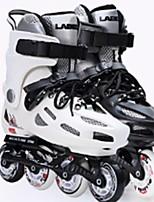 Damen Herrn Unisex Inline-Skates tragbar Wasserdicht Komfortabel Weiß/Schwarz