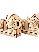 Music Box House Holiday Supplies Wood Unisex RANDOM COLOR