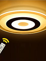 Round Ultra-thin Acrylic LED The Bedroom Light Stepless Dimming Sitting Room Lights Remote Control Diameter 52cm