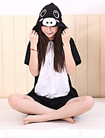 Kigurumi Pajamas Piggy/Pig Leotard/Onesie Festival/Holiday Animal Sleepwear Halloween Solid Cotton Kigurumi For Unisex Carnival