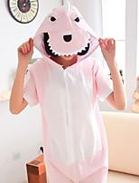Summer Kigurumi Pajamas Dinosaur Leotard/Onesie Festival/Holiday Animal Sleepwear Halloween Patchwork Cotton Kigurumi For Unisex Carnival