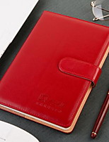 Business Notebook Which Has Pen Plug And Magnetic Buckle
