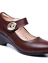 Women's Sneakers Spring Comfort Pigskin Casual