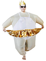 Ballerina Inflatable Costume Adult White Color Suit Party Halloween Carnival Costumes For Men Disfraces Adultos For Adult Birthday Christmas Gift