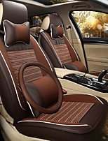 Steering Wheel Cover Business Car 7 Seater Van Seven Car seat Cushion Leather Four Seasons Cushion Seat Cover