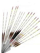 2 pçs Kits de Pesca Preto Castanho Rosa Branco g Onça mm polegada,Madeira Pesca Geral
