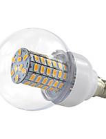 4.5W E14 Lâmpada Redonda LED 69 SMD 5730 420 lm Branco Quente Branco Frio V 1 pç