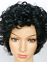 Cosplay Wigs Fashion Short Kinky Curly Capless Wigs High Quality Human Hair For Black Women