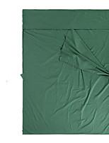 Schlafsack Rechteckiger Schlafsack Einzelbett(150 x 200 cm) 5 Hohlbaumwolle160 Camping warm halten Transportabel