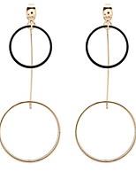 Серьги-слезки Серьги-кольца БижутерияБазовый дизайн Круглый дизайн Уникальный дизайн С логотипом В виде подвески Геометрический Дружба