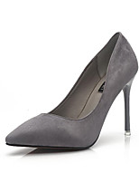 Women's Heels Spring Summer Fall Club Shoes Comfort Fleece Office & Career Party & Evening Dress Stiletto Heel Walking