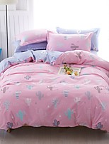 Betterhome  Reactive Printing Duvet Cover Sets Fashion Comfortable Series Bedding Four Sets
