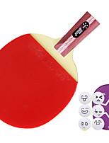 4 Stars Ping Pang/Table Tennis Rackets Ping Pang Wood Short Handle Pimples