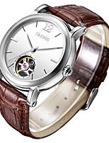 Мужской Модные часы Механические часы Китайский С автоподзаводом Кожа Группа Коричневый