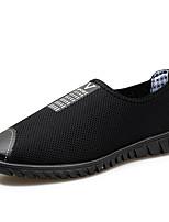 -Для мужчин-Для прогулок Повседневный Для занятий спортом-Тюль-На плоской подошве-Удобная обувь-Мокасины и Свитер