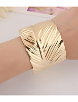 Women's Cuff Bracelet Fashion Alloy Leaf Jewelry For Party Special Occasion Gift 1 pcs