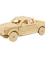 Puzzles 3D - Puzzle Bausteine Spielzeug zum Selbermachen Auto Holz Model & Building Toy