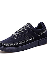 Men's Sneakers Spring Fall Light Soles Canvas Casual Flat Heel White Black