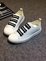Women's Sneakers Light Up Shoes Canvas Cotton Casual Flat Heel Black White