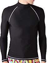 Men's Wetsuit Top Breathable Quick Dry Anatomic Design Neoprene Diving Suit Tops-Diving Spring Summer Fashion