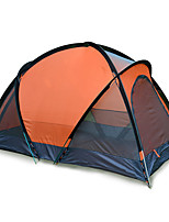 JUNGLEBOA 2 persons Tent Double Family Camping Tents One Room Camping Tent >3000mm Aluminium Oxford Polyester Taffeta