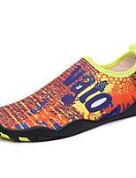 -Для женщин-Для прогулок Повседневный Для занятий спортом-Полиуретан-На плоской подошве-Удобная обувь Светодиодные подошвы-Кеды
