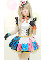 Outfits Sweet Lolita Lolita Cosplay Lolita Dress Solid Short Sleeve Short / Mini For
