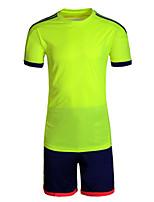 Футбол Спортивный костюм Удобный Лето Классика Полиэстер Футбол