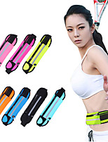 >1 L Sacs Banane Portefeuille Sac de téléphone portable Sac de sport / Sac de Yoga Yoga Camping & Randonnée Fitness Voyage JoggingEtanche