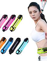 >1 L Waist Bag/Waistpack Wallet Cell Phone Bag Gym Bag / Yoga Bag Yoga Camping & Hiking Fitness Traveling JoggingWaterproof Waterproof