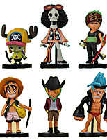 Anime Action Figures Inspired by One Piece Roronoa Zoro PVC 8 CM Model Toys Doll Toy