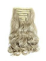 На клипсе синтетический Наращивание волос 160 Наращивание волос