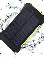 o novo 8000mAh ddual-usb energia solar de energia móvel
