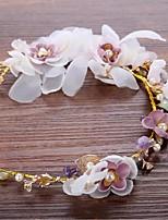Tulle Alliage Imitation de perle Casque-Mariage Occasion spéciale Fleurs Couronnes