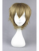Короткий прямой проект kagerou-amamiya hibiya блондинка синтетический 14inch аниме парик для косплея cs-175c