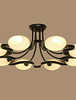 Chandelier ,  Traditional/Classic Others Feature for LED Metal Living Room Bedroom Dining Room Study Room/Office Hallway