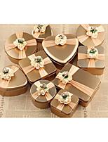 10 Pièce/Set Titulaire de Faveur-Cubique Acier (nicket plaqué) Bocaux à Bonbons et Bouteilles Boîtes Cadeaux Non personnalisé