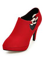 -Для женщин-Свадьба Для прогулок Для офиса Для праздника Для вечеринки / ужина-Дерматин-На шпильке-Формальная обувь-Обувь на каблуках