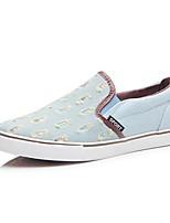 Men's Loafers & Slip-Ons Comfort Canvas Casual Flat Heel Walking