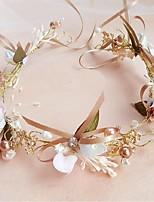 Legierung Künstliche Perle Chiffon Kopfschmuck-Hochzeit Besondere Anlässe Blumen Kränze