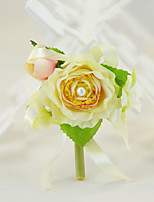 Yuxiying Wedding Flowers Rosa Rose Boutonnieres Cotton Silk