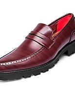 -Для мужчин-Для офиса Повседневный Для вечеринки / ужина-Материал на заказ клиента-На плоской подошве-Удобная обувь-Мокасины и Свитер