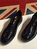 Men's Loafers & Slip-Ons Spring Comfort Leather Tulle Casual