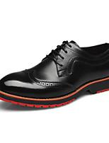 -Для мужчин-Для прогулок Повседневный-Кожа-На низком каблуке-Удобная обувь-Мокасины и Свитер