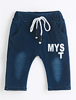 Boys' Casual/Daily Solid Jeans-Cotton Fall Spring