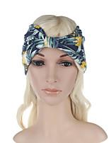 Headdress sexy simples floral do impressão da forma das mulheres